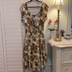 Beautifully made summer dress, or cotton! 1X